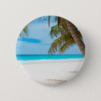 Badge Plage tropicale de paradis