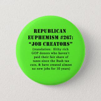 Badge PLAISANTERIE républicaine de créateurs du travail