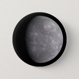 Badge Planète Mercury dans l'espace