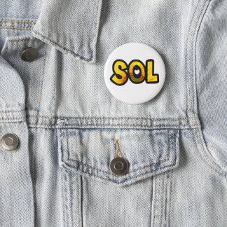 Badge Plaque personnalisée le Soleil