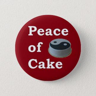Badge Plus de zen quelque chose énonciations - paix de