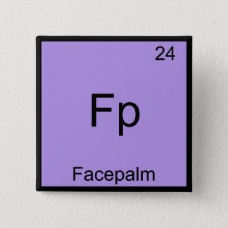 Badge Point de gel - Pièce en t drôle de chimie de Meme