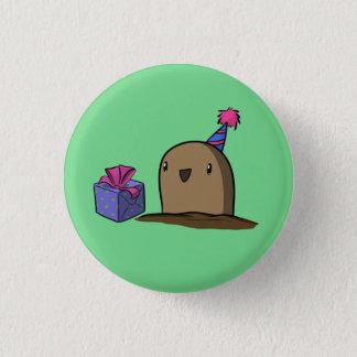Badge Pomme de terre d'anniversaire