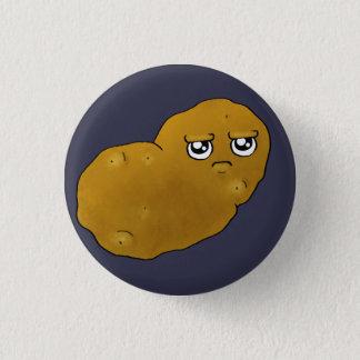 Badge Pomme de terre heureuse