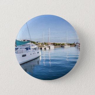 Badge port de la capitale de Port-Louis des Îles Maurice