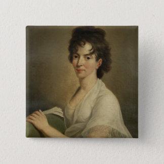 Badge Portrait de Constanze veuve Mozart, 1802
