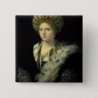 Badge Portrait de d'Este d'Isabella