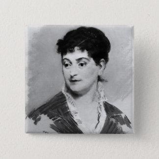 Badge Portrait de Manet   de Madame Emile Zola, 1874