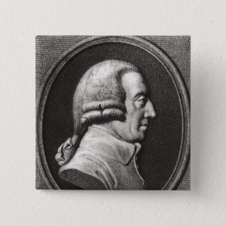 Badge Portrait d'un médaillon d'Adam Smith
