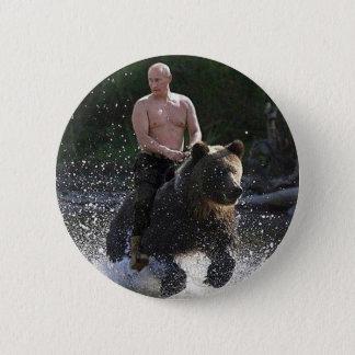 Badge Poutine monte un ours !
