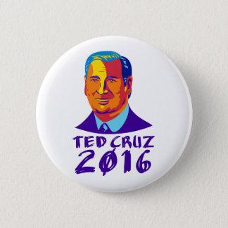 Badge Président 2016 de Ted Cruz rétro
