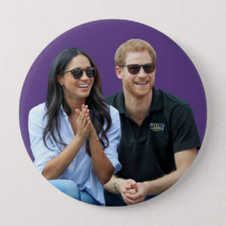 Badge Prince Harry et Meghan Markle