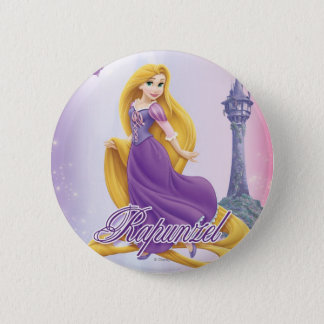 Badge Princesse de Rapunzel