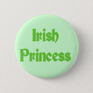 Badge Princesse irlandaise verte Tshirts et cadeaux