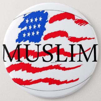 Badge principes de la vie - Américain musulman