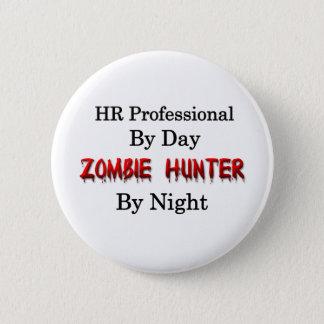 Badge Professionnel d'heure/chasseur de zombi
