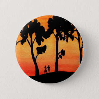 Badge Promenade de coucher du soleil