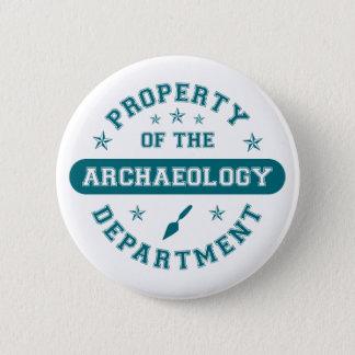 Badge Propriété du département d'archéologie