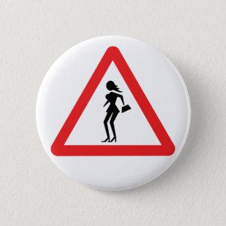 Badge Prostituée de précaution (prostituée d'Attenzione)