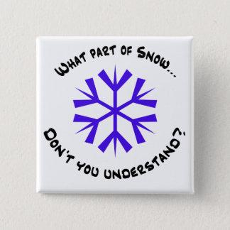 Badge Quelle partie de neige… ?
