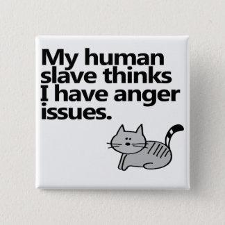 Badge Questions de colère de chat