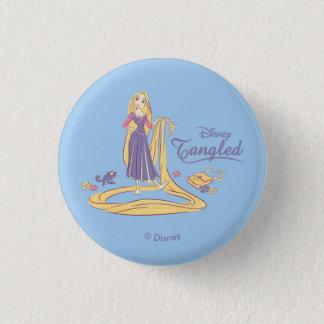 Badge Rapunzel et pastels de pourpre de Pascal