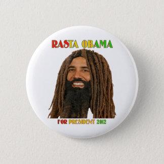 Badge Rasta Obama pour le président 2012