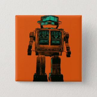 Badge Rébellion radioactive de robot