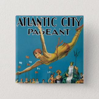 Badge Reconstitution historique d'Atlantic City