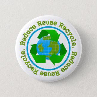 Badge Réduisez la réutilisation réutilisent v2