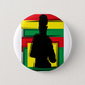 Badge Reggae bobo art