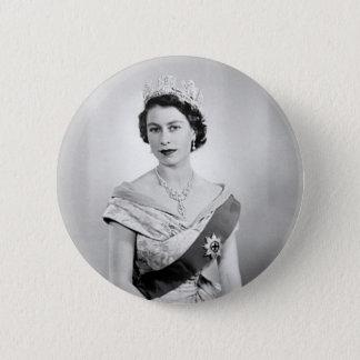 Badge Reine d'Angleterre d'Elizabeth II