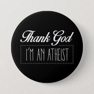 Badge Remerciez Dieu que je suis un athée