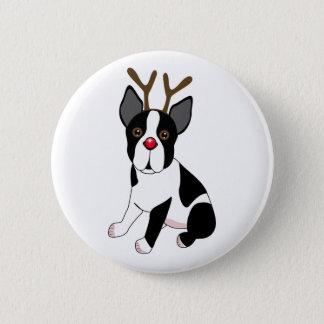 Badge Renne de Boston Terrier