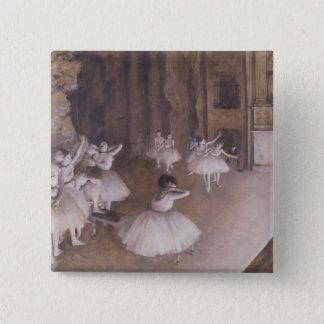 Badge Répétition de ballet d'Edgar Degas   sur l'étape,