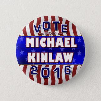 Badge Républicain 2016 de président élection de Michael