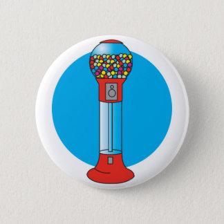 Badge rétro machine de gumball
