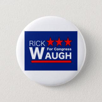 Badge Rick Waugh pour le bouton du congrès
