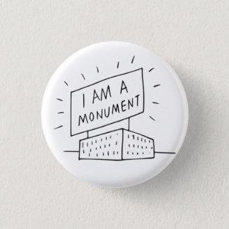 Badge Robert Venturi je suis un bouton de monument