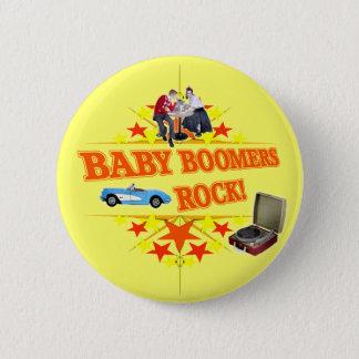 Badge Roche de baby boomers