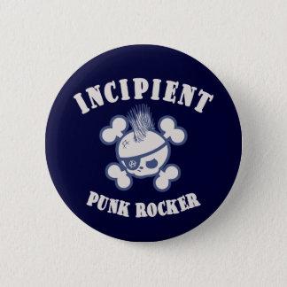 Badge Rocker punk naissant