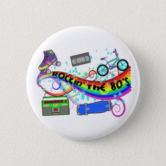 Badge Rockin les années 80