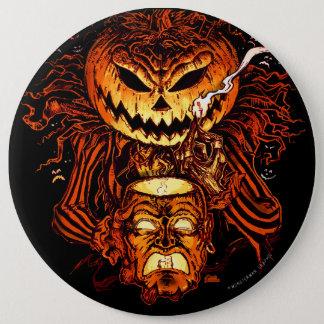 Badge Roi de citrouille de Halloween