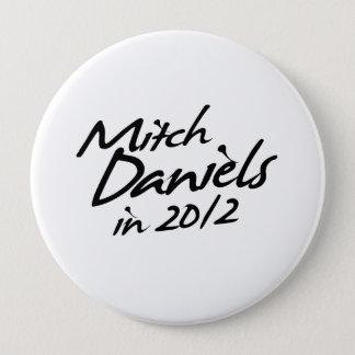 Badge Rond 10 Cm Autographe de MITCH DANIELS 2012