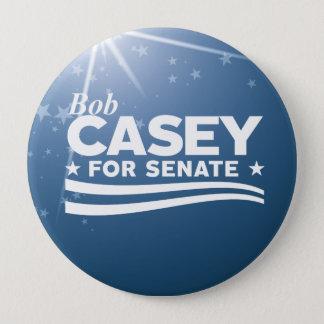 Badge Rond 10 Cm Bob Casey pour le sénat
