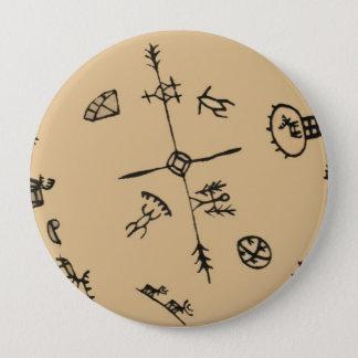 Badge Rond 10 Cm Culture - Sami -