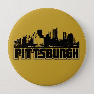 Badge Rond 10 Cm Horizon de Pittsburgh