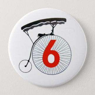 Badge Rond 10 Cm Le prisonnier numéro 6