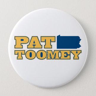 Badge Rond 10 Cm Pat Toomey pour la Pennsylvanie