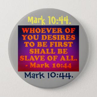 Badge Rond 10 Cm Vers de bible de 10h44 de marque.